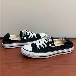 Converse All Star Casual Sneakers in Black Sz 7.5